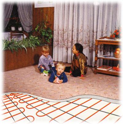 Podlahy vhodné pro podlahové vytápění