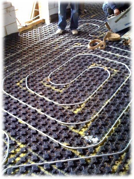 Podlahové vytápění Zlín