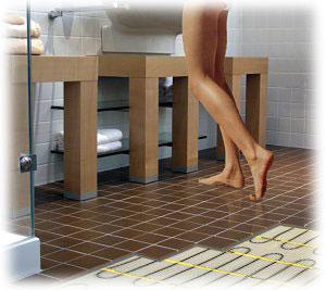 Podlahové vytápění má řadu výhod